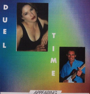 Duel Time duo with Steve Graafmans, late 90s